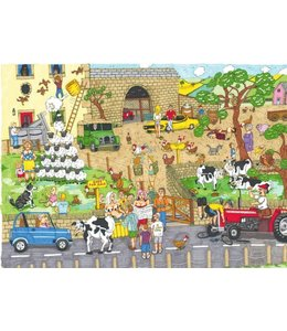 The House of Puzzles Funny Farm Puzzel 1000 Stukjes