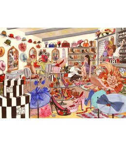 The House of Puzzles Head Over Heels Puzzel 500 Stukjes XL
