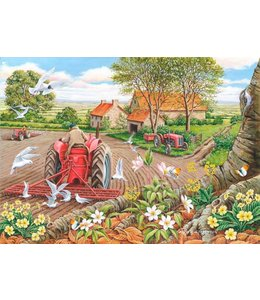 The House of Puzzles Red Harrows Puzzel 500 Stukjes XL