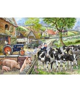 The House of Puzzles Oak Tree Farm Puzzel 500 Stukjes XL