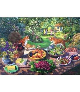 The House of Puzzles Garden Party Puzzel 250 Stukjes XL