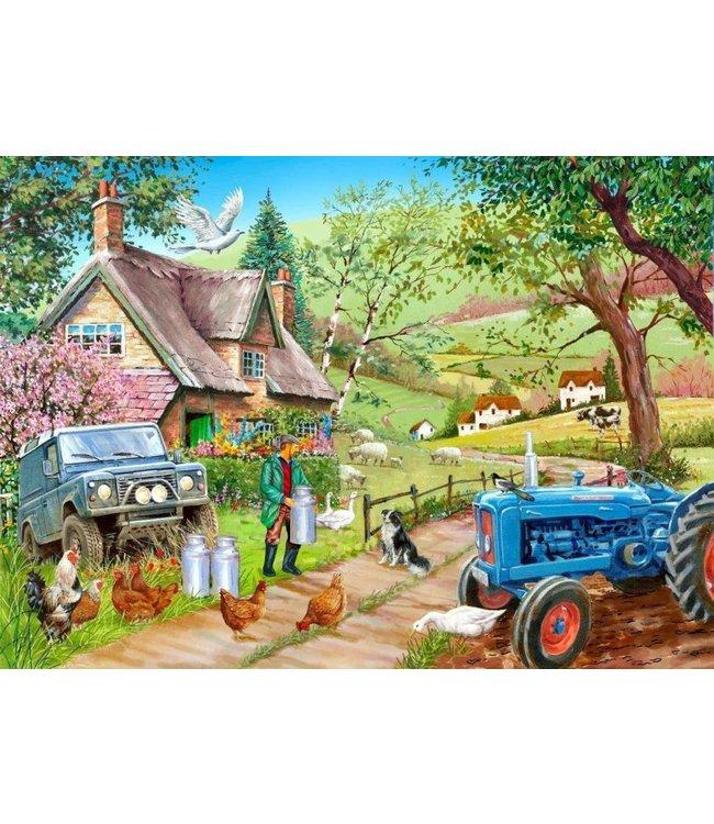 The House of Puzzles Farm Fresh Puzzel 500 Stukjes