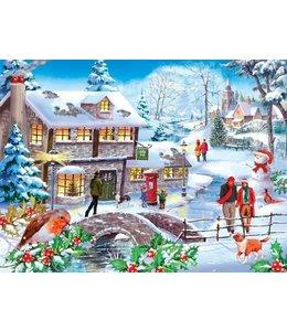 The House of Puzzles Winter Walk Puzzel 500 Stukjes
