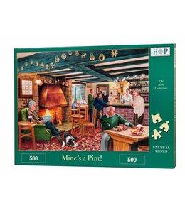 The House of Puzzles Mine's a Pint Puzzel 500 Stukjes