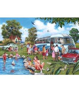 The House of Puzzles Coach Trip Puzzel 500 Stukjes