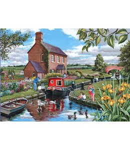 The House of Puzzles Keepers Cottage Puzzel 500 Stukjes