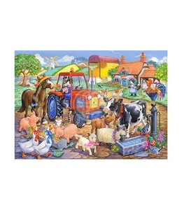 The House of Puzzles Farm Friends Puzzel 80 Stukjes