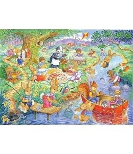 The House of Puzzles Picnic Time Puzzel 80 Stukjes