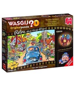 Jumbo Wasgij Original 1 Retro Zondagsrijders 1000 Stukjes