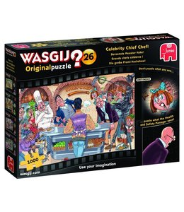 Jumbo Wasgij Original 26 : Beroemde Meester Koks! 1000 stukje