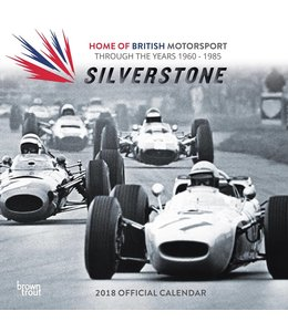 Browntrout Silverstone Kalender 2018