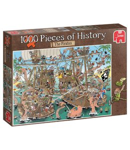 Jumbo Pieces of History - De Piraten 1000 Stukjes