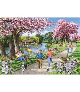 The House of Puzzles Apple Blossom Time Puzzel 500 XL stukjes