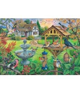 The House of Puzzles Bird Table Puzzel 500 XL stukjes