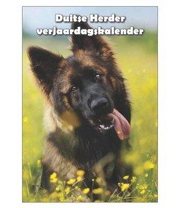 Qwebwinkel.nl Duitse Herder Verjaardagskalender