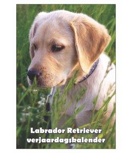 Qwebwinkel.nl Labrador Retriever Verjaardagskalender