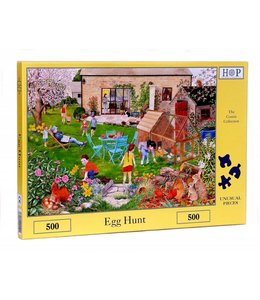 The House of Puzzles Egg Hunt Puzzel 500 stukjes