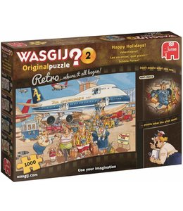 Jumbo Wasgij Original 2 Retro Vakantiepret 1000 Stukjes