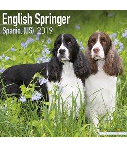 Avonside Engelse Springer Spaniel Kalender 2019 (us)