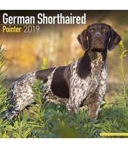 Avonside Duitse Staande Korthaar Kalender 2019