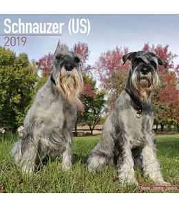 Avonside Schnauzer Kalender 2019 (us)