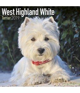Avonside West Highland White Terrier Kalender 2019