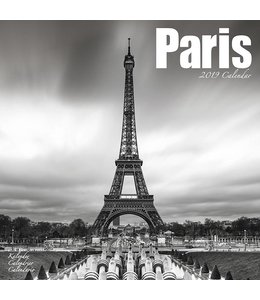 Avonside Parijs / Paris Kalender 2019