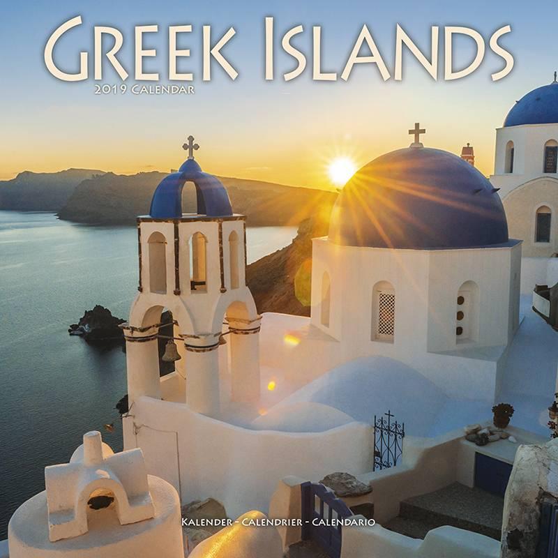 Griekenland - Greek Islands Kalender 2019 Avonside