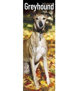 Avonside Greyhound Kalender 2019 Slimline