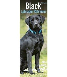 Avonside Labrador Retriever Kalender Zwart 2019 Slimline