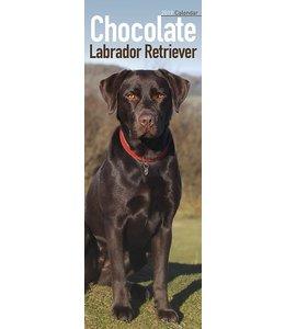 Avonside Labrador Retriever Kalender Bruin 2019 Slimline
