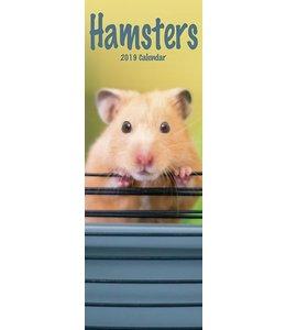 Avonside Hamster Kalender 2019 Slimline