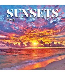TL Turner Sunsets Kalender 2019