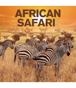 TL Turner African Safari Kalender 2019