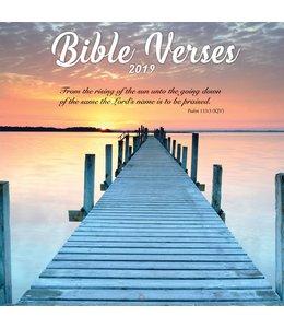 TL Turner Bible Verses Kalender 2019