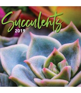TL Turner Succulents Kalender 2019