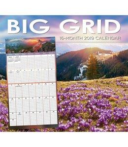 TL Turner Big Grid Kalender 2019
