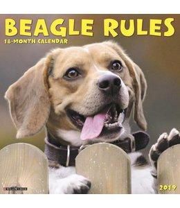 Willow Creek Beagle Rules Kalender 2019