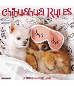 Willow Creek Chihuahua Rules Kalender 2019
