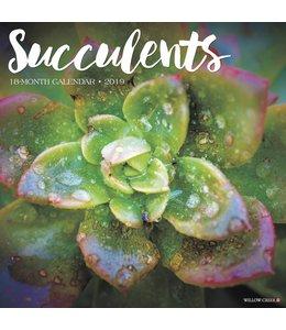 Willow Creek Succulents Kalender 2019