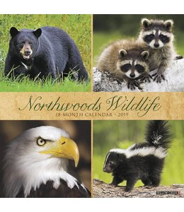 Willow Creek Northwoods Wildlife Kalender 2019