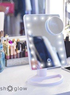 Crushglow Lighted Vanity Mirror