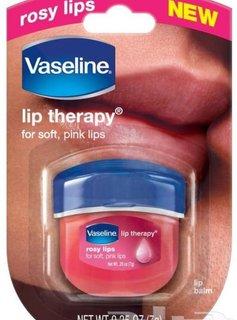 Vaseline rose lips