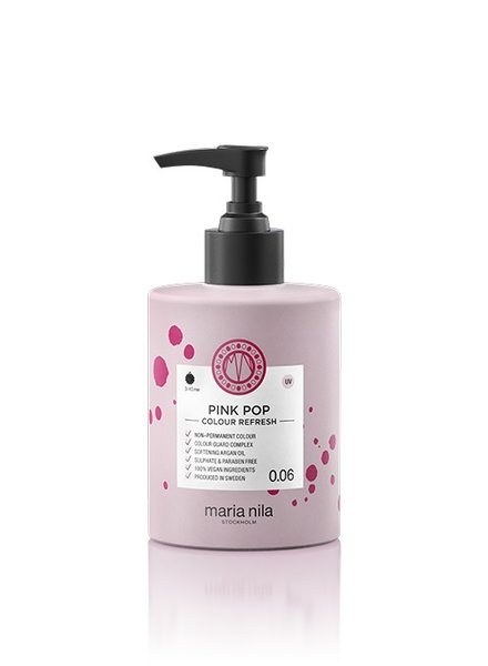 Maria Nila Maria Nila Colour Refresh Pink Pop 0.06 300 ml