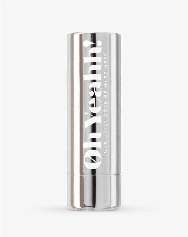 Oh Yeahh! Oh Yeahh! Happiness Lip Balm - Silver