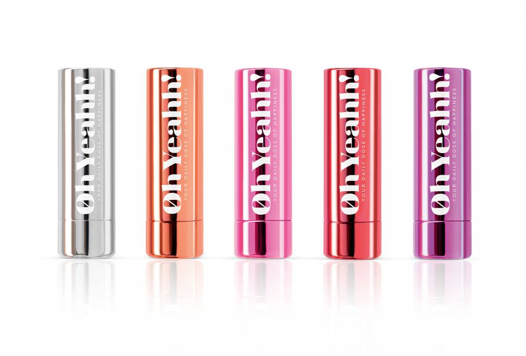 Oh Yeahh! Oh Yeahh! Happiness Lip Balm - Violet - Copy