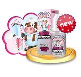 MILKY MOO Liquid (Erdbeer-Sahne) - American Stars