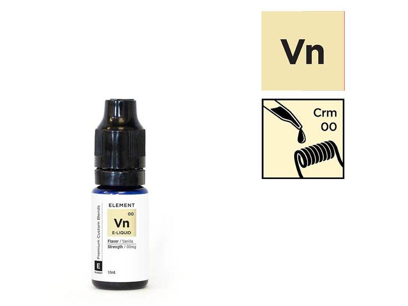 VANILLA/CREMA Liquid (cremige Vanille) – ELEMENT