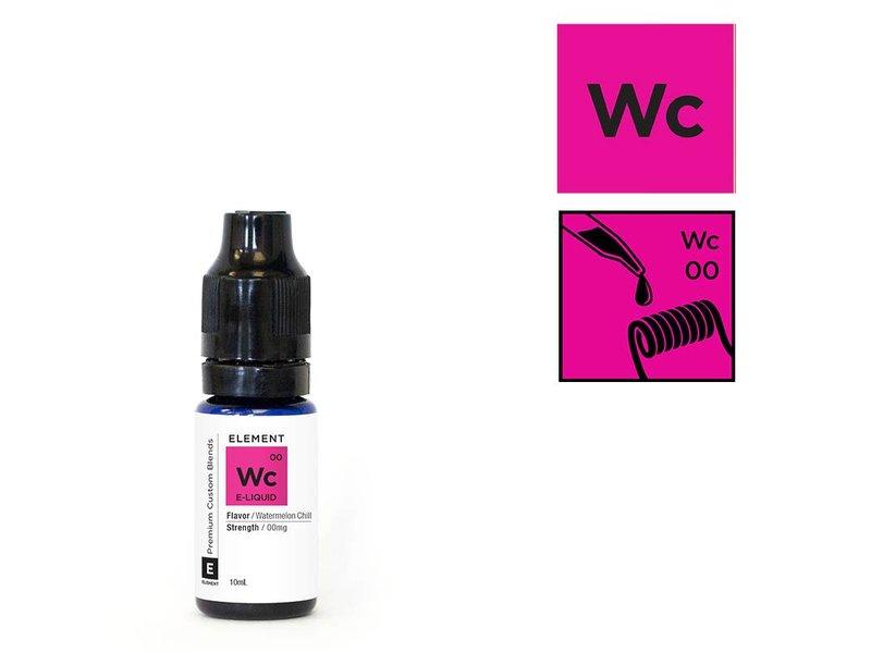 WATERMELON CHILL Liquid (eisige Wassermelone) – ELEMENT