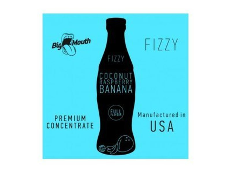 FIZZY Coconut-Raspberry-Banana Aroma - Original Big Mouth